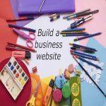 Build a business website
