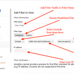 Google Analytics Filters and Views