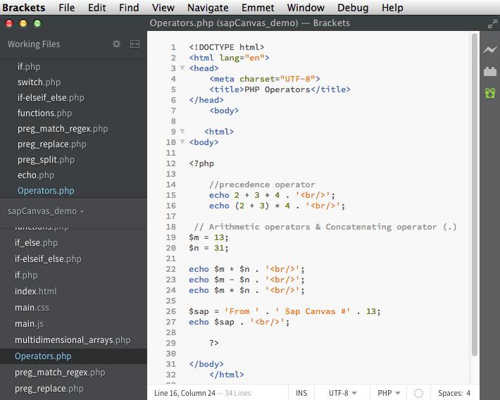 fig17a– PHP Operators