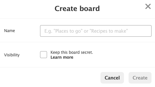 fig4-Pinterest Marketing~Create a Board