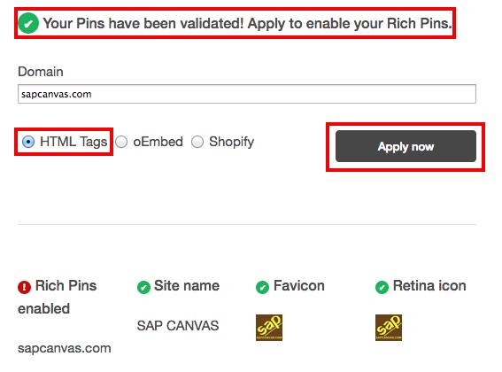 fig6-Pinterest Rich Pins Validator