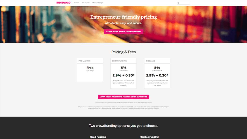 fig5-Crowdfunding Marketing Platform~IndieGoGo