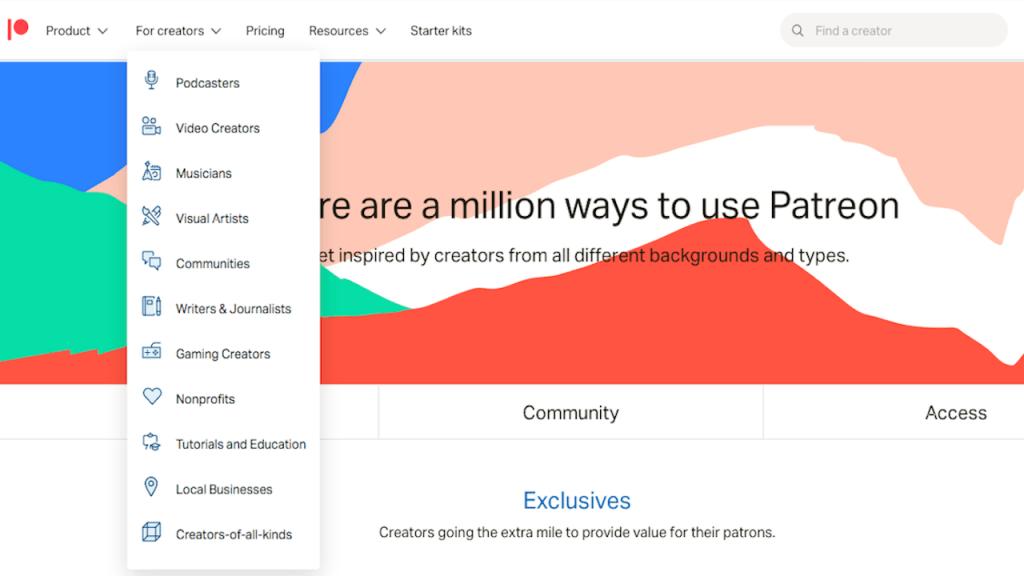 fig6-Crowdfunding Marketing Platform~Patreon